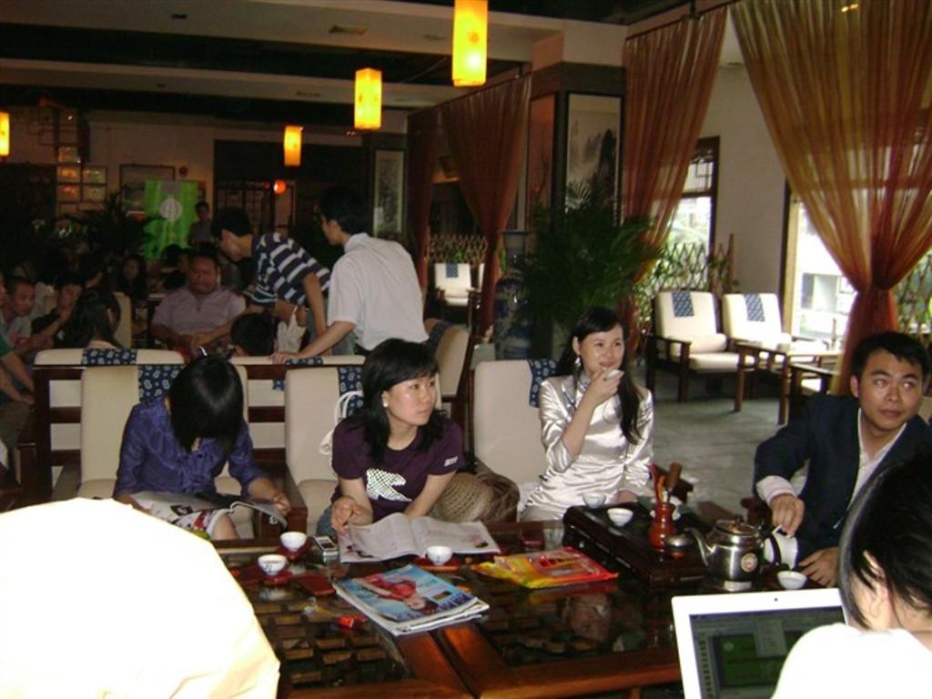 岁月流香:茶派茶友会2010年05期深圳茶会活动剪影